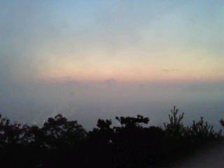 鳩吹山日の出